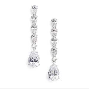 New with tags! Nadri cubic zirconia drop earrings